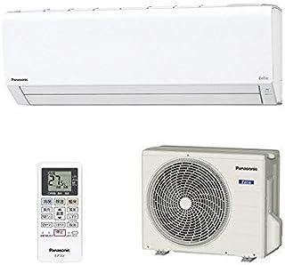 パナソニック インバーター冷暖房除湿エアコン【エオリア】主に10畳用(クリスタルホワイト) CS-288CF-W