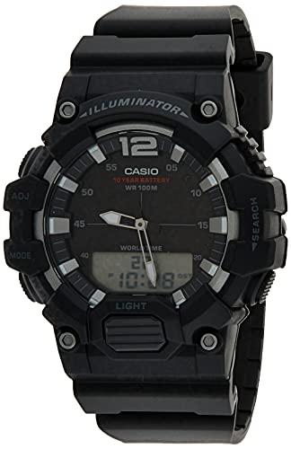 Casio Reloj Digital para Hombre de Cuarzo con Correa en Resina HDC-700-1AVEF