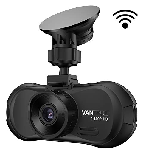 Vantrue X3 WiFi Dash Cam, QHD 2.5K 1440P 30fps 1080P 60fps Dash Camera 170 Degree Wide Angle Car...