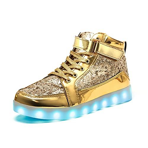IGxx LED Light Up Shoes for Men USB Recharging...