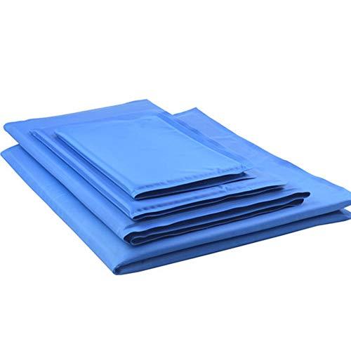 DishyKooker Pet Summer Cooling Mat Kissen für Hunde Teddy Cats Nest Supplies Blau S