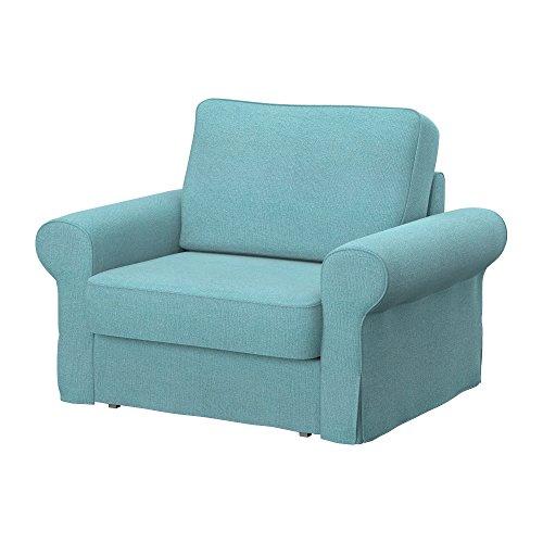 Soferia - IKEA BACKABRO Funda para sillón, Glam Sky Blue