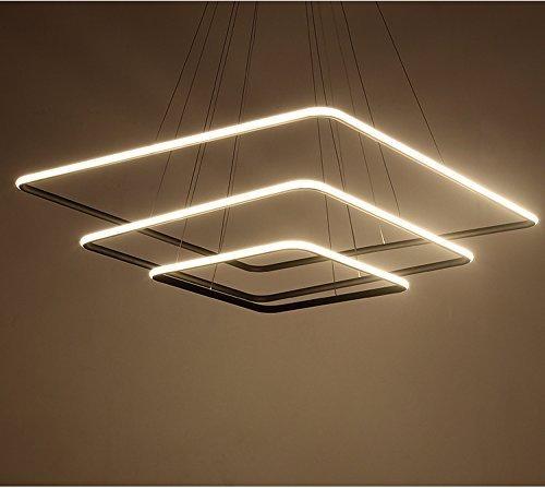 Saint Mossi® Exklusiv Entwurf Modern Kronleuchter Drei Stufe Platz LED Deckenleuchte Aussehen Einstellbar LED Lichtquelle Integriert