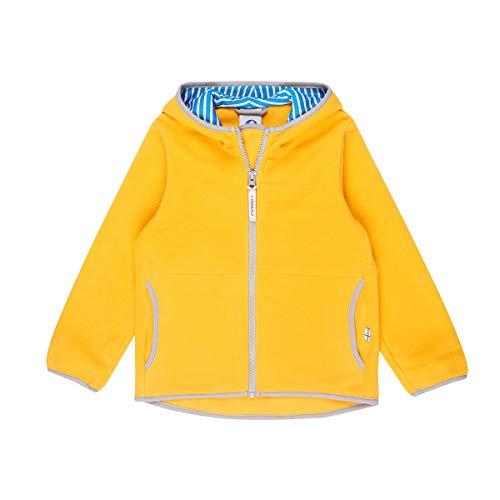 Finkid Paukku Fleece Jacke Zip In Gelb - Yellow/Storm (140/150)