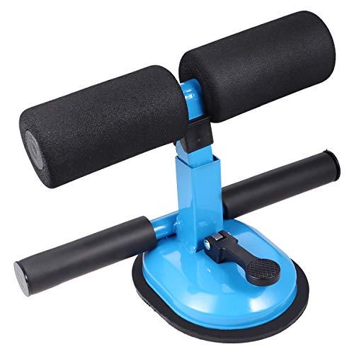 None 1Pc Saugnapf Praktisch Sicher Kreativ Assist Gerät Bauchtrainer Fitnessgeräte für Männer Frauen nach Hause (Blau)