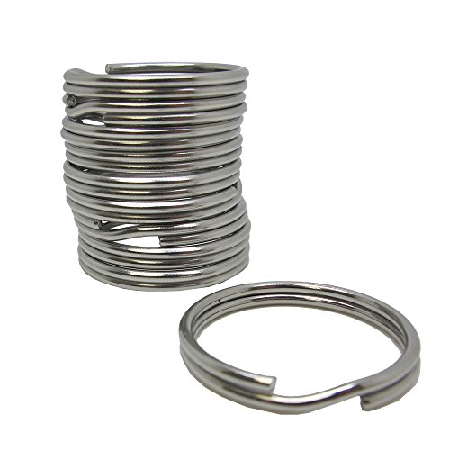 Scuba Choice Diving 323mm Stainless Steel Split Ring for BCD Attachment 10 Piece 20mm