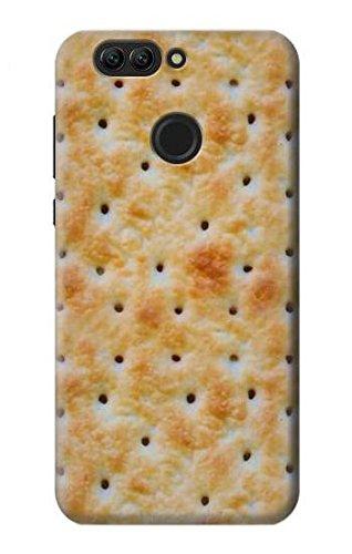 Innovedesire Cream Cracker Biscuits Funda Carcasa Case para Huawei Nova 2