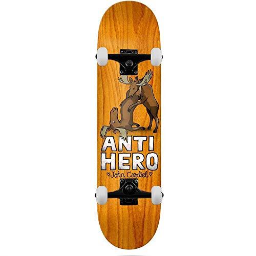 Anti Hero Deck Cardiel Lovers II - Skateboard completo, 21 cm