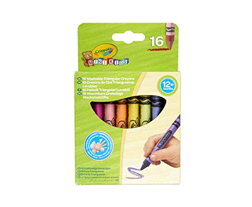 Crayola Beginnings: Washable Triangular Crayons