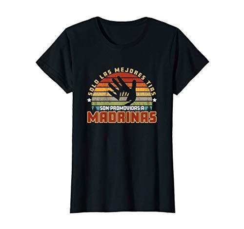 Mujer Camisa Blusa para Tias y Tambien Madrinas Comadres Camiseta