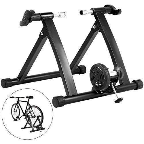 Tecmaqui Rollen für Fahrrad, 330 lbs, für den Innenbereich, 750 W, flüssig, tragbar, für das Fahrradtraining im Innenbereich, Rollen mit Flüssigkeit für Fahrräder