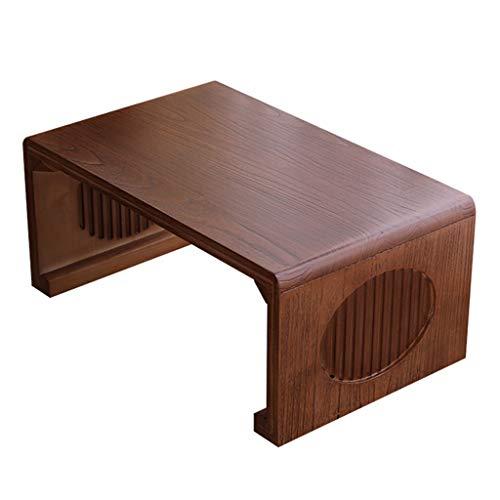 Couchtische Japanischer Teetisch Haushalt Erker Fenstertisch Kleiner Couchtisch Tatami Tisch Kang Tisch Chinesischer Schultisch Balkon Niedriger Tisch (Color : Brown, Size : 70 * 45 * 30cm)