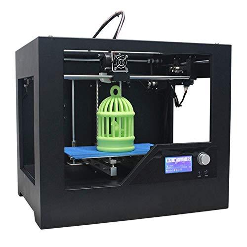IROSE Imprimante 3D Mini 3D Desktop Haute Précision Metal Frame en Trois Dimensions, L'imprimante Physique Utilisation Recommandée Les Consommables d'impression 1.75mm Z-603S
