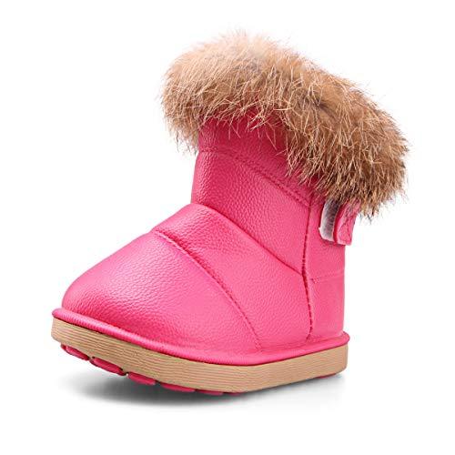 Botas de Nieve para Niños Niña Invierno Calentar Botines...