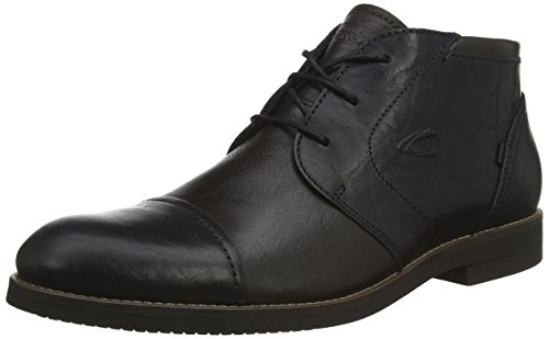 camel active San Jose 13, Herren Kurzschaft Stiefel, Blau (midnight/dk.grey/black), 39 EU (6 Herren UK)