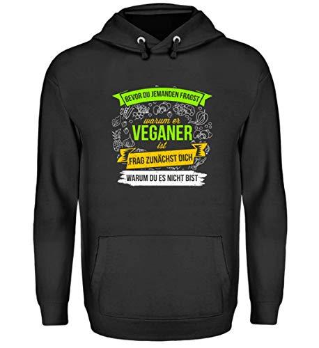 Chorchester ideaal voor veganisten en veganisters - Unisex capuchontrui hoodie