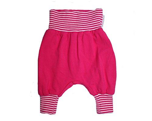 Baby Pantalon Harem Pantalon Pantalon Uni Rose