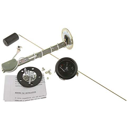 Create Idea Medidor de nivel de combustible de 52 mm, 12 V, con sensor de combustible E-1/2-F 12 V