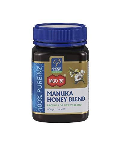 Manuka Health - Manuka Honig Mischung MGO 30 + 500g - 100% Pur aus Neuseeland mit zertifiziertem Methylglyoxal Gehalt