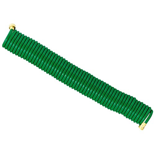 SIM SUPPLY Best Garden 3/8 in. Dia. x 50 Ft. L. Coiled Hose - 1 Each