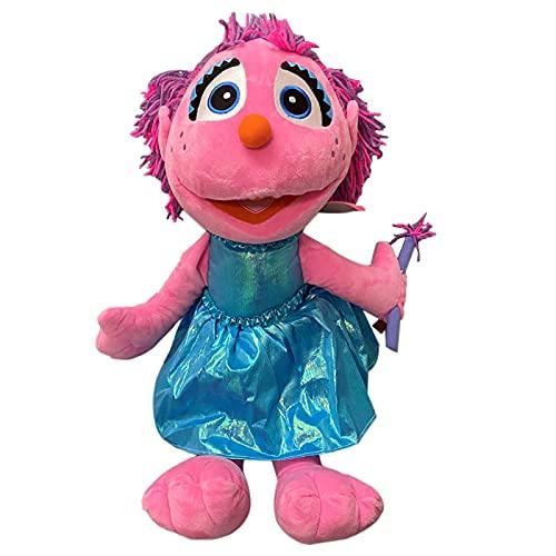 QWEI Precioso Barrio Sésamo Abby Cadabby Fairy Angel Muñeca De Peluche Lindos Juguetes Suaves Muñecas Educativas para Bebés 35Cm