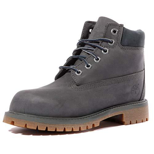 Timberland 6 Inch Classic Boot Youth Dark Grey Nubuck 35.5 EU