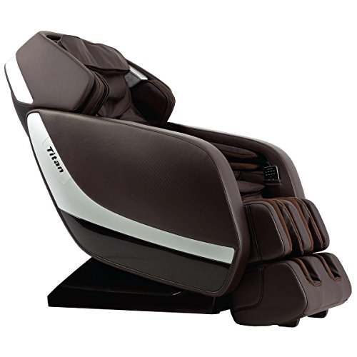 New Titan Pro Jupiter XL 3D Massage Chair w/ 5-Year Warranty and White Glove (Brown)