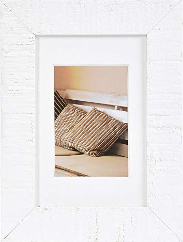 Henzo Driftwood 10x15 wit fotolijst, hout