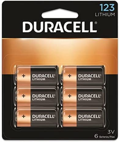 Duracell Photo Electron Lithium New product! New type Battery DL123AB 6 - OFFicial mail order 3 Each V X