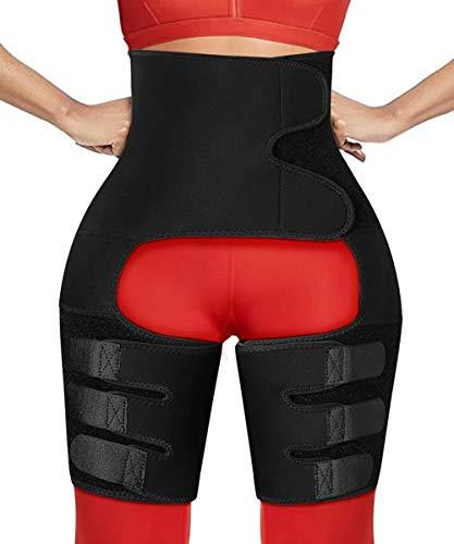 HOPLYNN Waist Trainer for Women Waist Trimmer Body Shaper Lumbar Thigh...