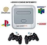 [+33000 Giochi Integrati] Videogiochi Console Arcade Sala Giochi Retrò Retro da BAR Anni 80/90 HD READY 1920X1080, HDMI VGA