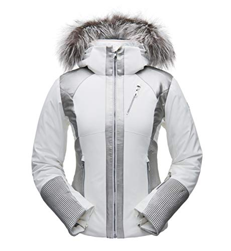 Spyder Amour Real Fur Jacket dames ski-jack winterjas jas