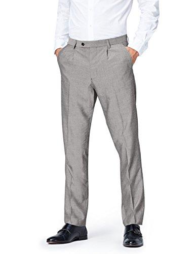 FIND Pantalones de Vestir para Hombre Gris (Grau) W30/L29