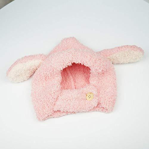 ZYSWP MZWJTZKD Orejas de Conejo Sombrero bebé niño pequeño otoño otoño Invierno Tapas de Punto para niños Bebé Bebé Beanie Sombreros Accesorios Accesorios Fotografías