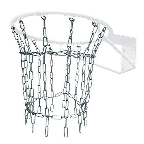Sport-Thieme Basketballnetz Outdoor | Netz für Basketballkorb | Allwetter- und Vandalismusgeschützt | Verzinkte Stahlkette 4mm | Lieferung ohne Korb | Markenqualität