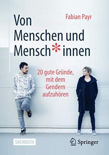 Buchseite und Rezensionen zu 'Von Menschen und Mensch*innen' von Fabian Payr