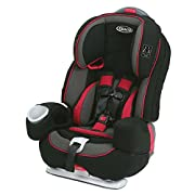 Three seats in one: 5-point harnessed car seat, high back belt-positioning booster and backless belt-positioning booster Converts from 5-point harnessed car seat (22 - 80 lb.) to high back belt-positioning booster (30 - 100 lb.) to backless belt-posi...