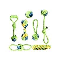 犬用 ロープのおもちゃ ぬいぐるみ 引っ張り合いっこ ストレス解消 丈夫 丸洗い 運動不足 解消 歯ぎ清潔 安全 耐久性 7種類のセットです