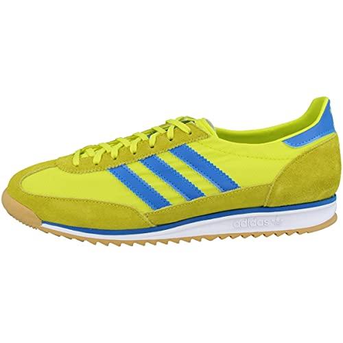 adidas SL 72, Zapatillas Deportivas Hombre, Acid Yellow Bright Blue Gum 3, 38 EU