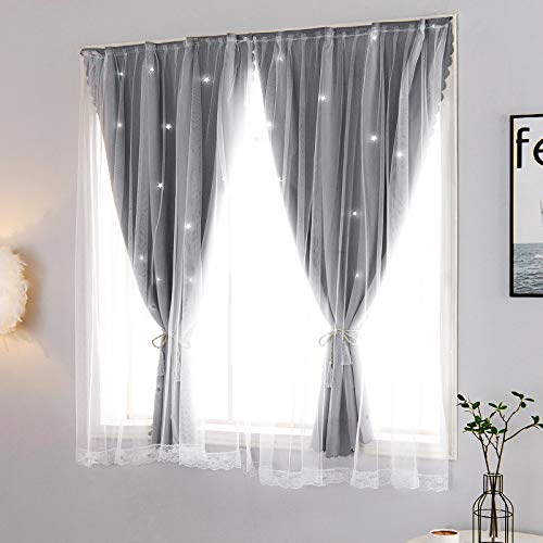 BOLO Filtering and privacy, semi-veil eye curtain panel,1.0x2.0M