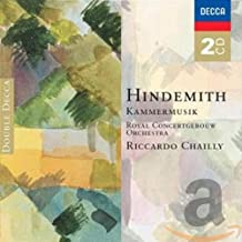 Hindemith: Kammermusik Concertos Nos. 1-7 ~ Chailly