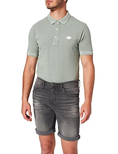 Blend Męskie szorty dżinsowe, 200296_denim Grey, L