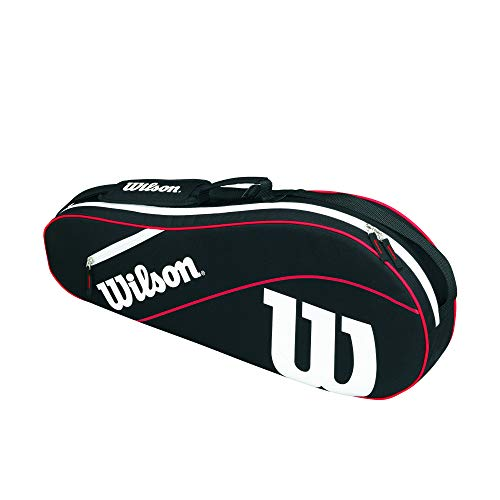 Wilson Advantage III Triple Bag - Black/Red