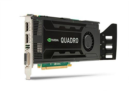 HP NVIDIA Quadro K4000 3 GB DL-DVI+2xDP Grafikkarte C2J94AA