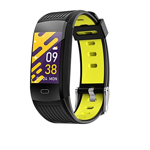 M9s Fitness Tracker Pulsera Inteligente Pantalla a Color TFT de 0,96 Pulgadas, con Monitor de sueño / presión Arterial / Monitor de frecuencia cardíaca / podómetro Deportivo, Pulsera Deportiva