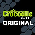 """Crocodile Cloth Industrial Cleaning Wipes - The Stronger Easier Way to Cut Through Grease, Oil, and Adhesives on Hands… 18 MORE EFFECTIVE, MORE VALUE: These giant 15"""" x 10"""" cloths are designed to scrub and absorb, meaning you need less wipes to clean the same mess. If you need more than one wipe for a mess you need to move on to Crocodile Cloth DON'T JUST CLEAN. ATTACK: Designed to dissolve and absorb grease, oil, paint, ink, caulk, glue, and automotive messes in real work environments. Our wipes stay moist longer and feature a super tough heavy-duty build HAND SAFE: Our wipes are dermatologically tested and infused with aloe and vitamin E to be safe for hands while eating through grease and oil. Every disposable cloth will stay wet outside the package for over an hour."""