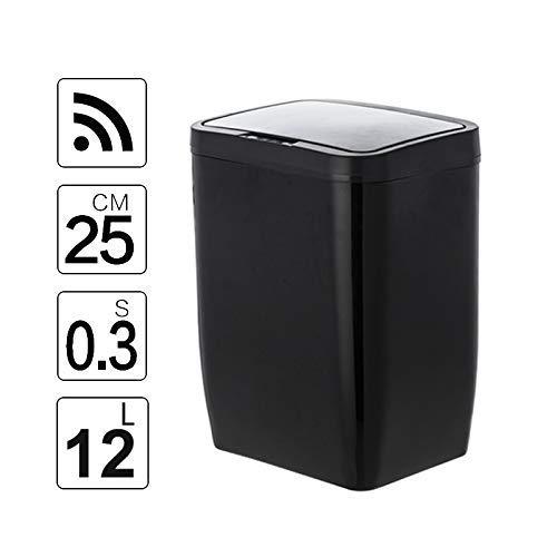 Robotachtige Touchless Vuilnisbakken Infrared Automatonlike Inductie Afval Trash Cab Sensor Afvalbakken Garbage prullenbak for Kitchen Bento Lunch Box For Kids (kleur: DR HW026) LOLDF1