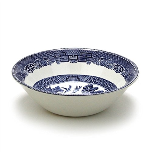 Blue Willow by Johnson Bros, Earthenware Soup/Cereal Bowl