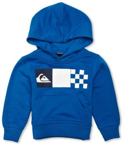 Quiksilver Sweat shirt à capuche Garçon Bleu Pacifique FR : 3 ans Small (Brand size : 3 years)