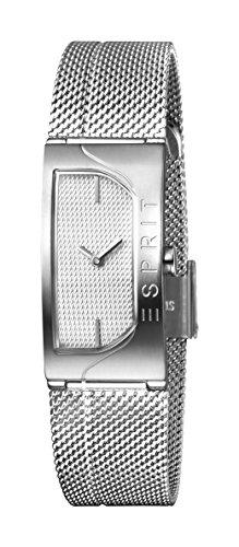 Esprit Damen Analog Quarz Uhr mit Edelstahl Armband ES1L045M0015